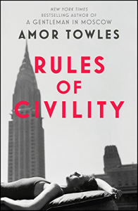 Rules of Civility – Amor Towles